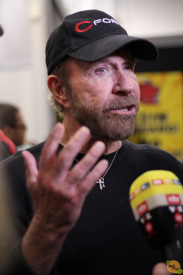 Chuck Norris - German Comic Con 01.12.18