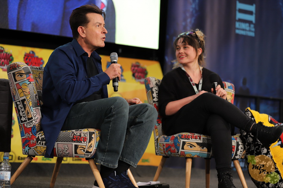 Charlie Sheen - German Comic Con 13.04.19